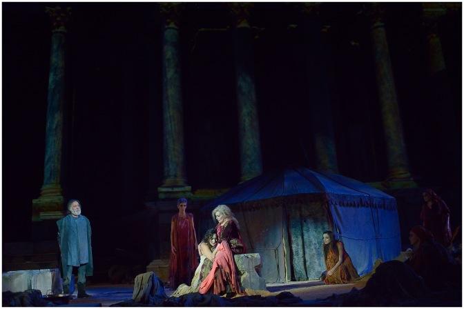 Entre las próximas paradas de Hécuba está Torrelavega (4 de enero) y el Teatro Español de Madrid (Del 6 al 23 de febrero)