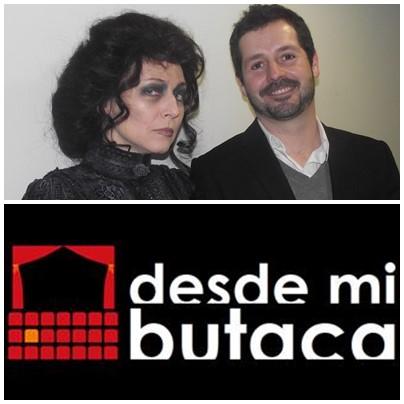 """Tras descubrir los secretos de """"Carlota"""" con Mariano de Paco, una de sus protagonistas, Pilar Castro, atiende a DESDE MI BUTACA."""