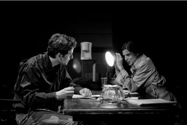 Una foto de los ensayos de Roberto Álamo.