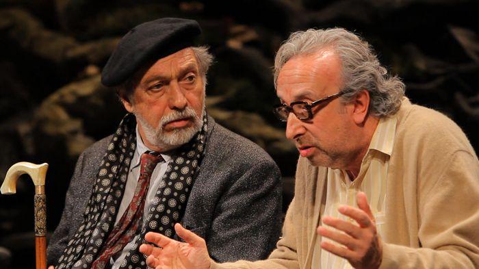 """""""Parque Lezama"""", el debut de Campanella en el teatro."""