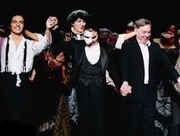 """Andrew Lloyd Webber asistió al estreno de """"El fantasma de la ópera"""" en España."""