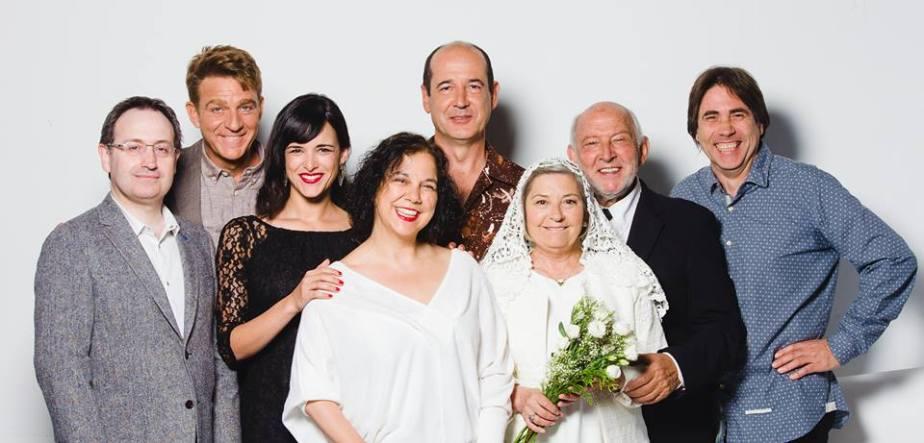 """El equipo de """"El hijo de la novia""""."""