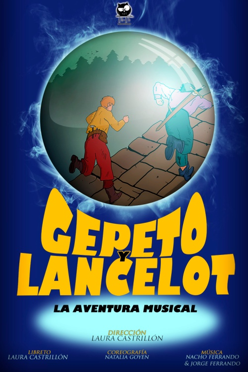 Gepeto y Lancelot cartel