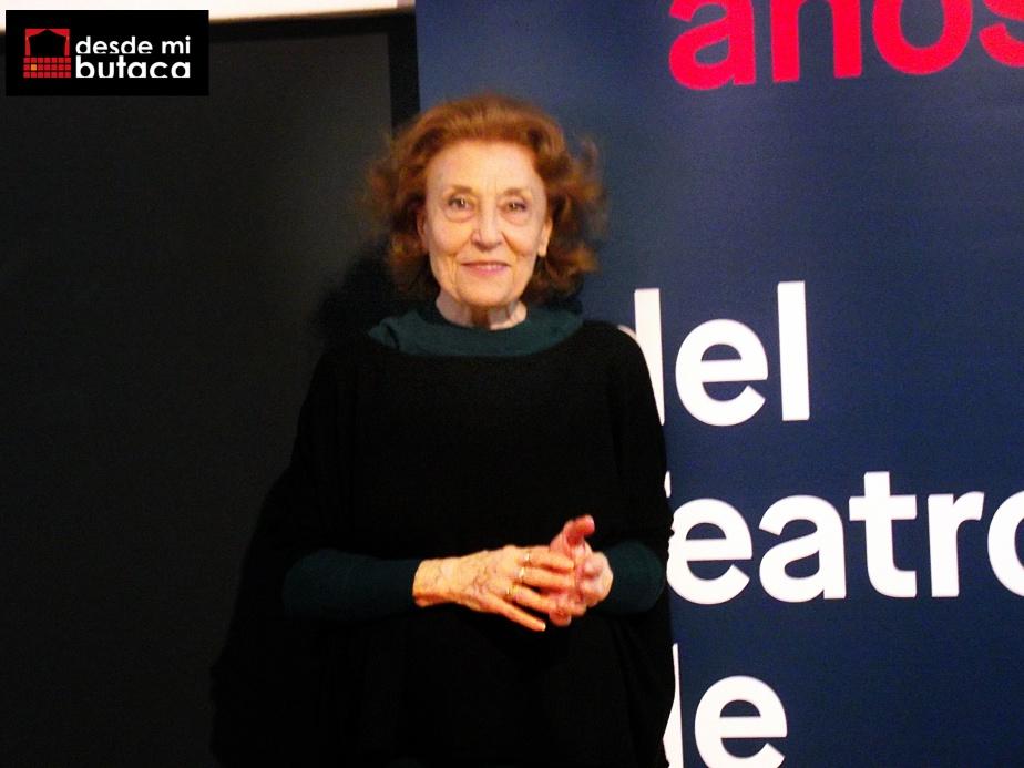 """Julia Gutiérrez Caba: """"Cuando sales y desgastas tu primer zapato en el escenario ya es imposible dejar esteoficio"""""""