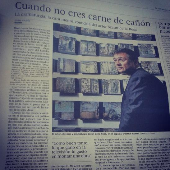 Captura del reportaje del diario