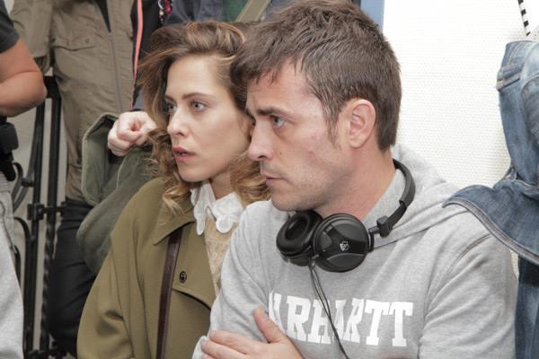Junto a María León en la adaptación cinematográfica.