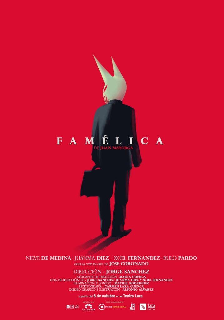 cartel Famelica Personaje lara (internet)
