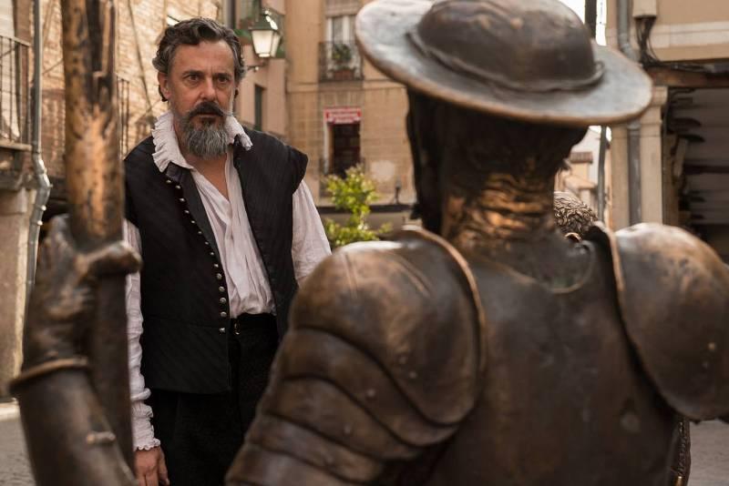 """""""El Ministerio del Tiempo"""", el mejor homenaje al Quijote en el centenario deCervantes"""