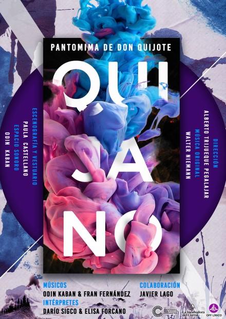 CARTEL, QUIJANO, Pantomima Don Quijote 2018